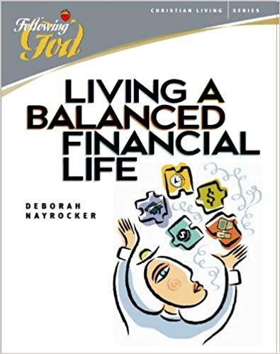 Living a Balanced Financial Life